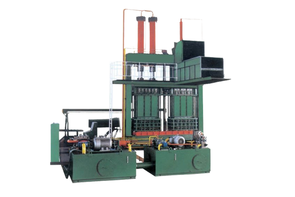 Revolving-Box-type-Baling-Press