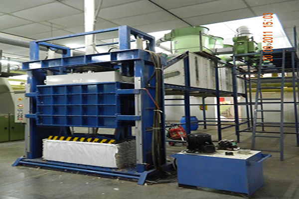 Automatic Baling Press for Cotton